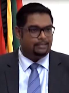 Irfaan Ali President of Guyana