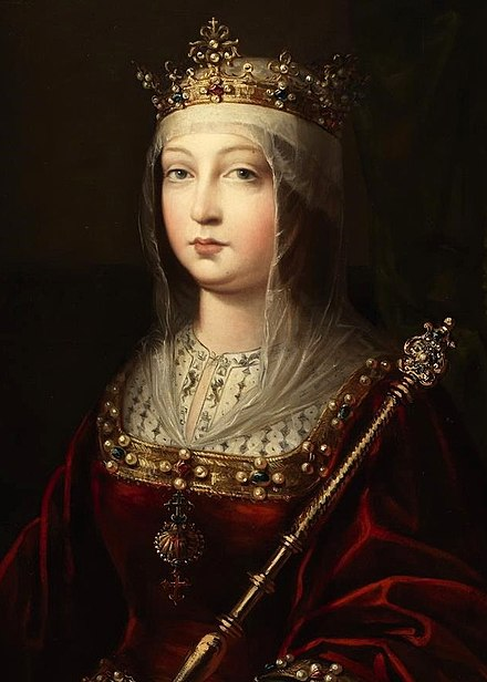 Isabella I of Castile Isabel I of Castile.jpg