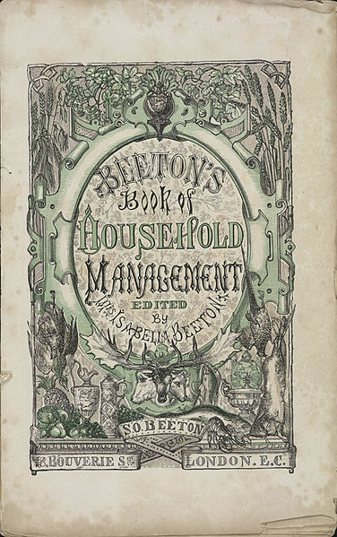 File:Isabella Beeton - Mrs Beeton's Book of Household Management - title page.jpg