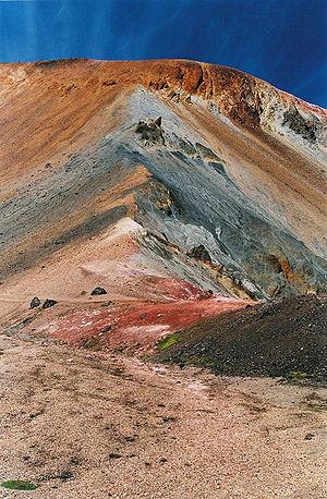 Brennisteinsalda - Image: Islande Brennisteinsalda 20040816