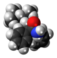 Isopropamide molecule spacefill.png