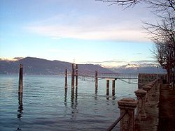 Lake Maggiore seen from Ispra.