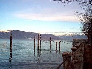 Ispra - Lake Maggiore seen from Ispra.