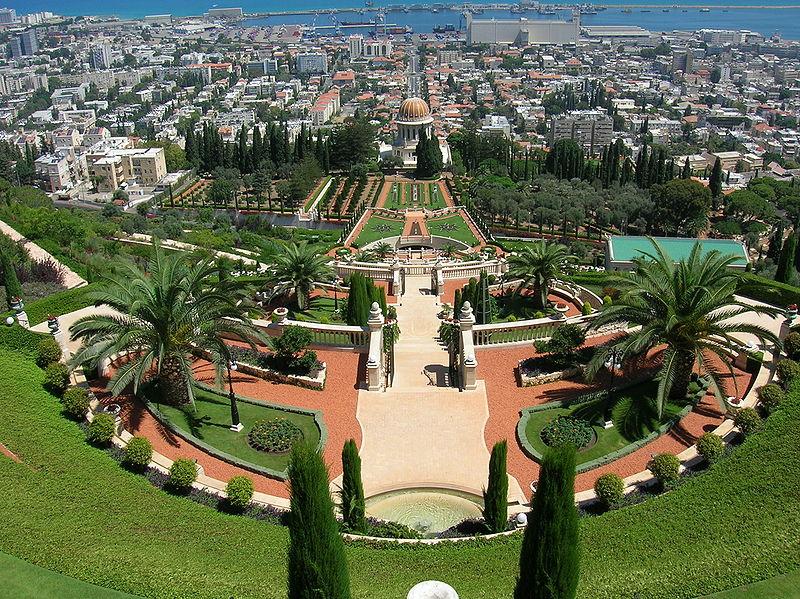 800px-Israel_-_Haifa_-_Bahai_Gardens_004
