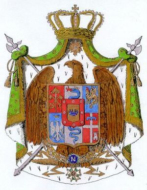 Coat of arms of Napoleonic Italy