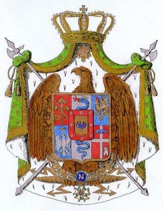 Coat of arms of Napoleonic Italy - Image: Italia,1806.(TZ)