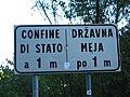 Italy-Slovenia State boundary Val Rosandra.jpg