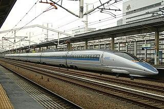 500 Series Shinkansen Japanese high speed train type