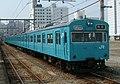 JRW 103 base version sky blue Bantan Line Himeji Station 2006-03-27.jpg