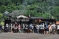 JRW C56 160 + trainspotters at Tsuwano Station 2017-08-01.jpg