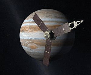New Frontiers program - Artists's concept of Juno when it arrives at Jupiter