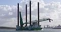 Jack-up crane ship Neptune - Nieuwe Waterweg - South Holland - 27 Feb. 2015.jpg