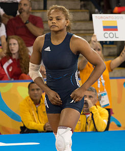 Jackeline Rentería at Pan Am 2015.jpg
