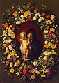 Jacob Jordaens and Andries Daniels - Garland of Flowers with Virgin and Child.jpg