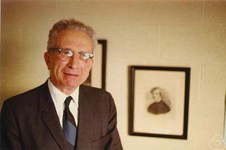Jacob Wolfowitz - Wolfowitz in 1970 (photo courtesy of MFO)