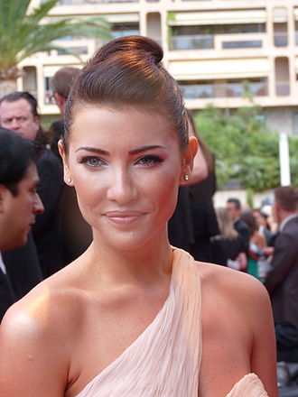 Jacqueline MacInnes Wood - Wood attending the Monte-Carlo Television Festival, 10 June 2012