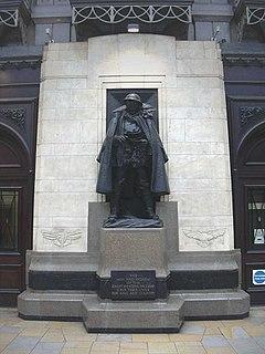 Great Western Railway War Memorial Railway company war memorial in London, England