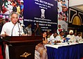 Jairam Ramesh delivering the keynote address at the All India Editors Conference on Social Sector Issues, at Puducherry. The Minister of State for Personnel, Public Grievances & Pensions and Prime Minister's Office.jpg