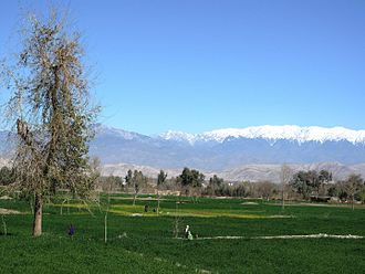 View of the Spin Ghar range from the city of Jalalabad Jalalabad - Spin Ghar Range.JPG