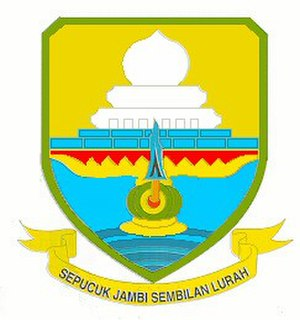 Provinces of Indonesia - Image: Jambi symbol