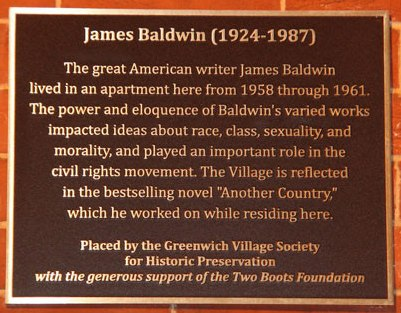 JamesBaldwinPlaque