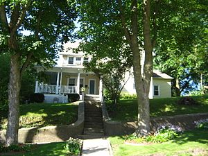 National Register of Historic Places listings in Jasper County, Iowa - Image: James Norman Hall House (2)