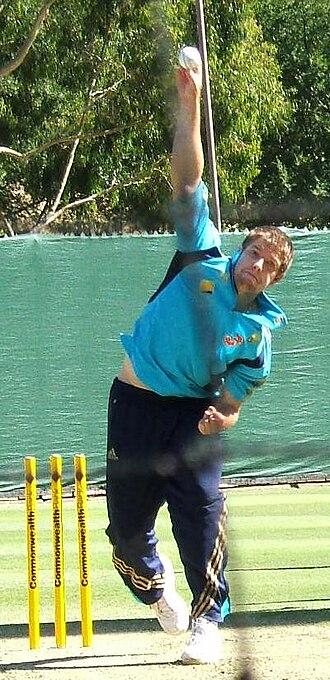 James Hopes - Image: James Hopes bowling