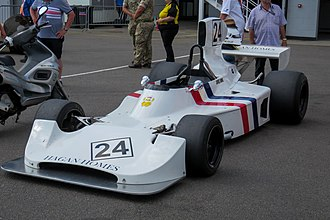 Hesketh 308 - The 308 of James Hunt in 2018.