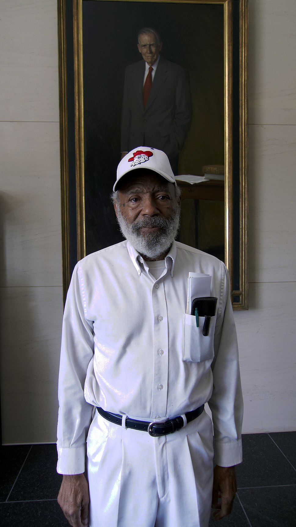 James Meredith in 2010