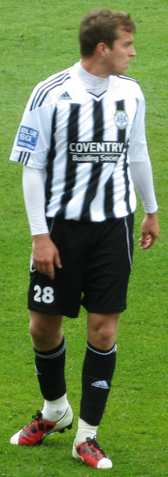 Jamie Collins (footballer, born 1984) - Collins playing for Forest Green Rovers in 2012
