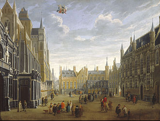 Jan Baptist van Meunincxhove - The Burg in Bruges
