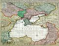 Jan Elwe - Nouvelle carte de la petite Tartarie ou Taurie, montrant les frontieres de l'empereur des tures.jpg