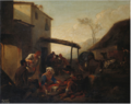 Jan Miel - Italian Peasants outside a Tavern.tiff