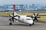 Japan Air Commuter, DHC-8-400, JA850C (18045884133).jpg