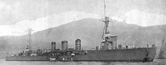 Japanese cruiser Tenryu in 1936.jpg