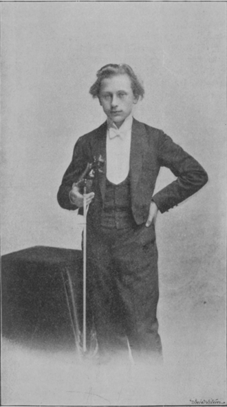 1901 in music - Jaroslav Kocián in 1901