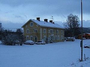 Järpen - Järpen Train Station in December 2005