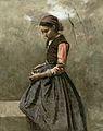 Jean-Baptiste Camille Corot - Une jeune fille pensive.jpg
