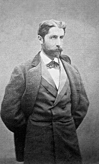 Paschal Grousset - Portrait of Paschal Grousset