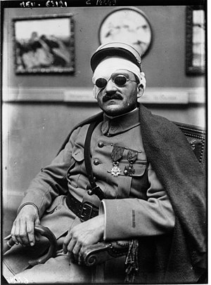 Jean-Julien Lemordant - Jean-Julien Lemordant in 1917, after he had lost his eyesight during the First World War