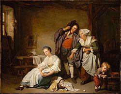 Jean-Baptiste Greuze: Broken Eggs