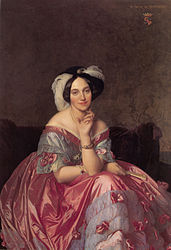 Jean-Auguste-Dominique Ingres : Baronne de Rothschild