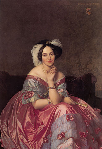 Portrait of Baronne de Rothschild - Baronne de Rothschild, Rothschild Collection, Paris