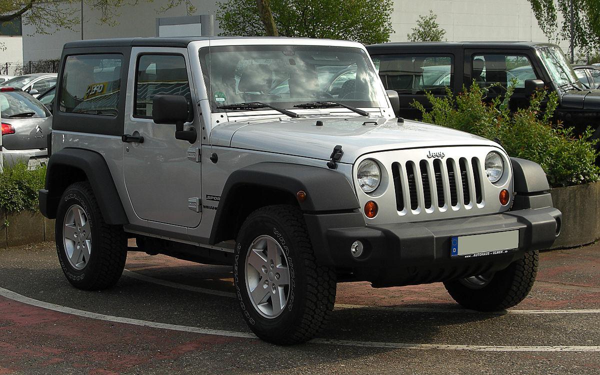 Jeep Wrangler — Вікіпедія