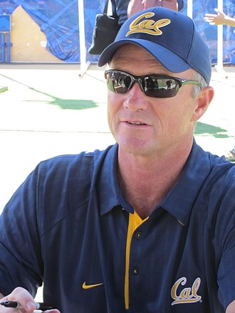 2001 Oregon Ducks football team - Jeff Tedford (pictured as head coach of Cal in 2010), in his fourth season as offensive coordinator for the Ducks. Following the 2001 season Tedford was hired to be head coach of the California Golden Bears football team.