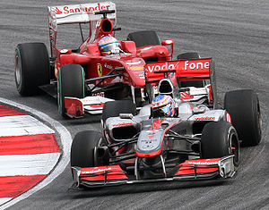 Formula One 2010 Rd.3 Malaysian GP: Jenson But...