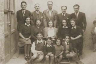 Portrait of a Jewish family in Kavajë. During the Holocaust, predominantly Muslim Albanians saved almost 2000 Jews from deportation to the concentration camps during World War II.[82]