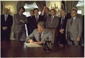 Jimmy Carter signing the Emergency Drought Relief Bill - NARA - 174328.tif