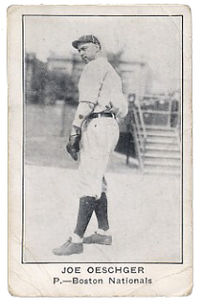 Joe Oeschger baseball card for Boston Nationals Uniform 1922.JPG