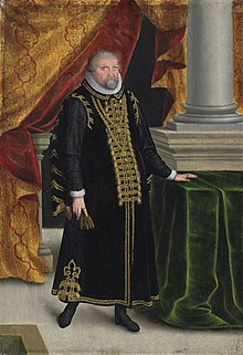 Johan Georges, Elector of Brandenburg (1525-1598), by Zacharias Wehme (circa 1550-1606).jpg